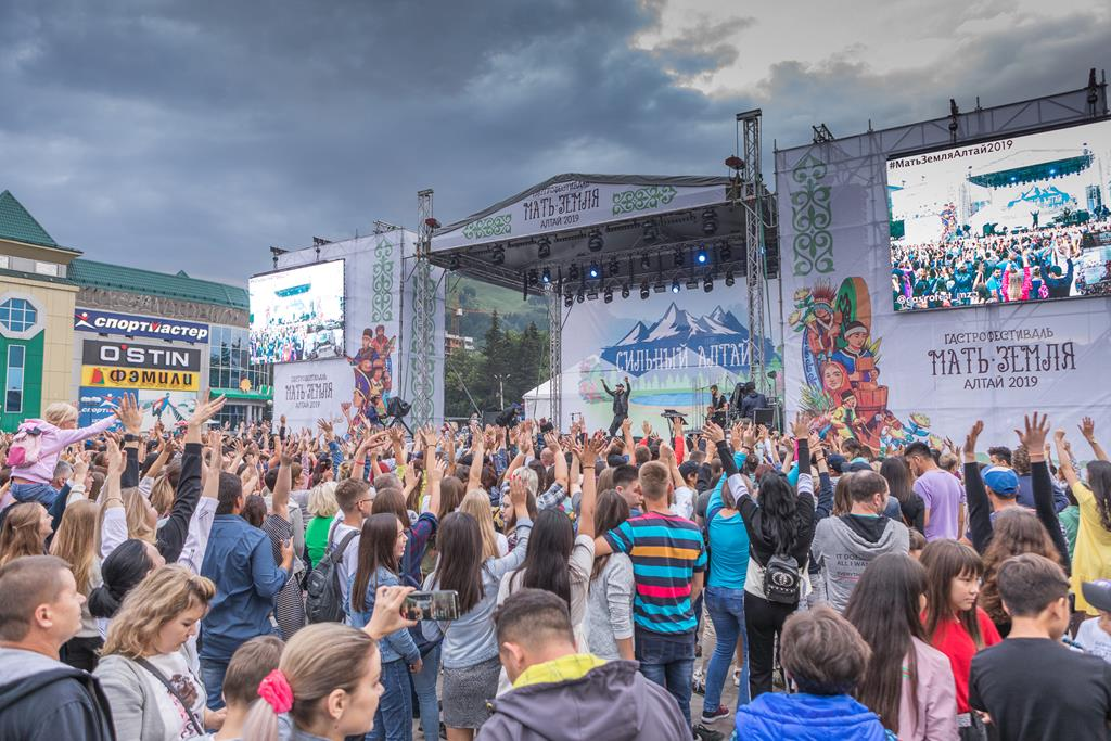 Абсолютный рекорд 18-ти фестивалей «Гастрономическая карта России» поставили в Горно-Алтайске