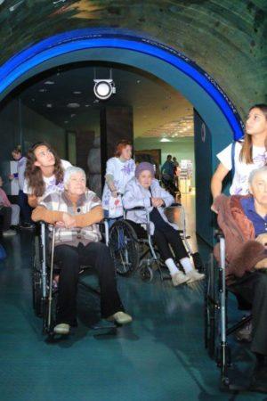 В «Москвариуме» на ВДНХ отметили Международный день пожилых людей