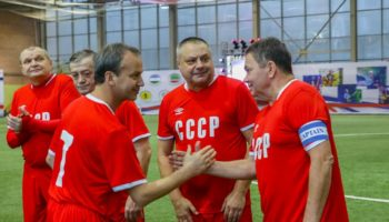 Михаил Боярский и Денис Майданов сыграют в «Арт-футбол»