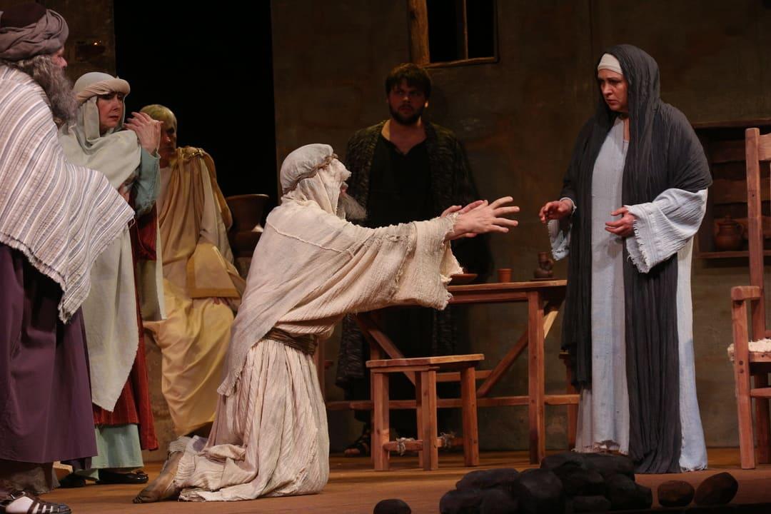 спектакль «Мать Иисуса»