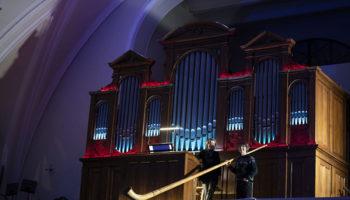 Альпийский рог и орган в фантастической акустике собора
