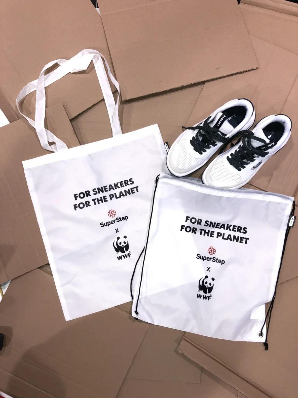 Выбор в пользу Земли: SuperStep и WWF
