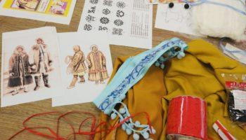 Модельеры школы №2065 создают коллекции одежды «Народы севера» и «Города герои»