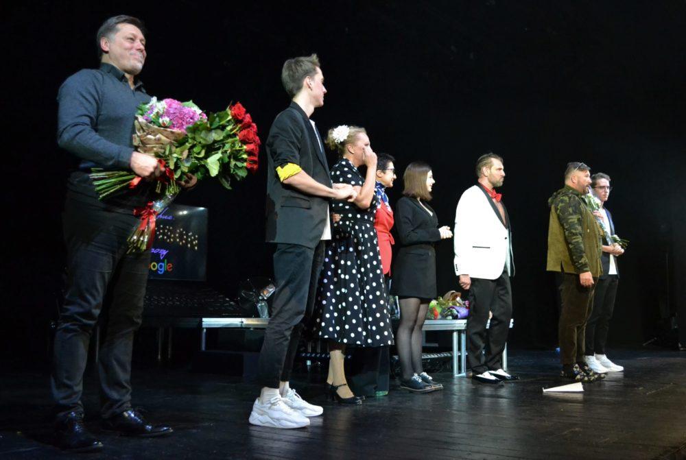 Бенефис Андрея Егорова в театре Российской Армии