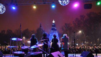 Новогодняя ночь в парке «Кузьминки»