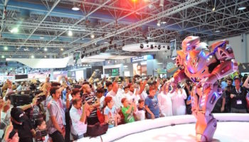 Знаменитый робот Титан покажет свое шоу на Робостанции