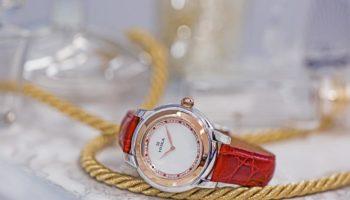 Часовой завод НИКА представил новинку – часы, выполненные в технике БИКОЛОР