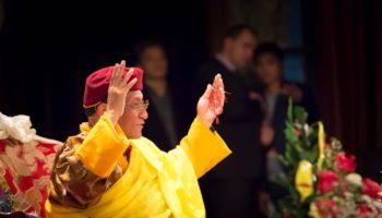 Презентация книги Его Святейшества Гьялванг Друкпа «Счастье – это состояние ума»