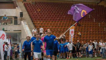 Ведущие мировые компании приняли участие в благотворительном турнире по мини-футболу «Спорт во благо» в поддержку людей с синдромом Дауна