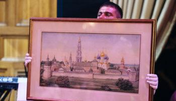 Картина Георгия Лапшина «Ла Пергола Ментон» продана на благотворительном аукционе за 103 000$