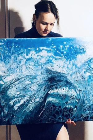 художник Юлия Комова