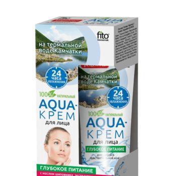 aqua крем для лица с экстрактом шиповника